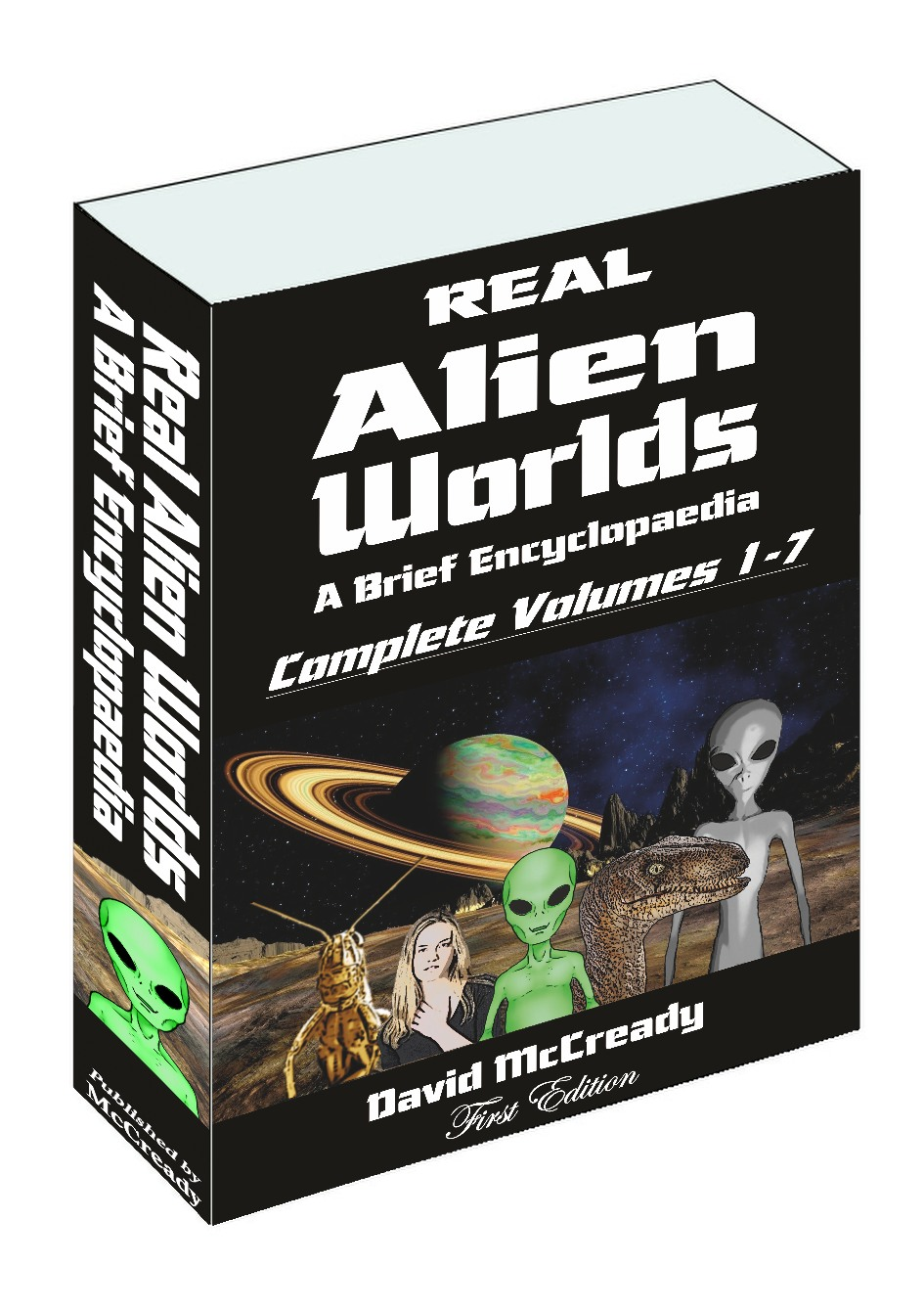 Real Alien Worlds Complete Volumes 1 to 7 - paperback